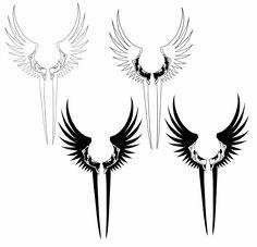 valkyrie_wings_tattoo_by_kianap-d7a3j6u.jpg (5650×5445)