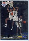 For Sale - 92-93 Upper Deck Shaquille O'Neal ROOKIE Basketball Card #1 Orlando Magic NM