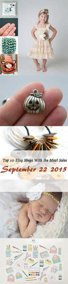 Top 10 Etsy Sellers From September 22, 2015