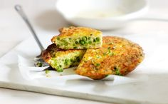 Simply M - Pea and Cheddar frittata.  Recipe with video #glutenfree #coeliac #celiac