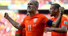 Netherlands vs Chile 2014 World Cup Highlights Goals GIFs Photos