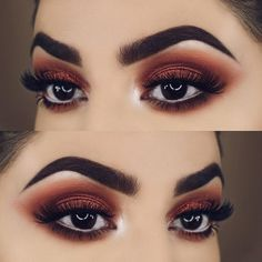 Gorgeous Makeup: Tips and Tricks With Eye Makeup and Eyeshadow – Makeup Design Ideas Dramatic Eye Makeup, Smokey Eye Makeup, Glam Makeup, Eyeshadow Makeup, Dark Eye Makeup, Makeup Eyebrows, Brown Eyes Eyeshadow, Eyemakeup For Brown Eyes, Beauty Makeup