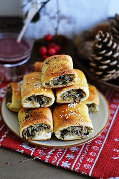 Polish Recipes, New Recipes, Polish Food, Xmas Food, Christmas Baking, Hot Dog Buns, Bagel, Good Food, Food And Drink