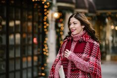 The Plaid Poncho (and Why I Bought It)