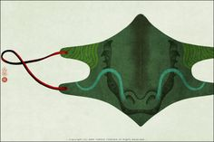 The mask of Dragon
