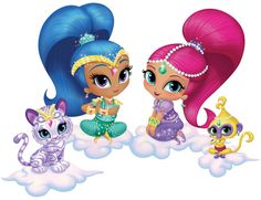 Shimmer And Shine Coloring Book from Birthday in a Box is the perfect touch to your Shimmer and Shine party Arabesque, Shimmer And Shine Characters, Shimmer And Shine Cake, Computer Wallpaper, Birthday Cake Toppers, Cartoon Images, Coloring Books, Vinyl Decals, Diy And Crafts