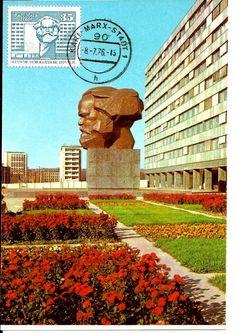 Das Karl-Marx-Monument (auch Nischel)