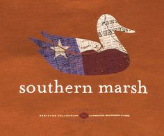 """Southern Marsh Collection — Southern Marsh Authentic Heritage Collection - Texas.  Prefer """"burnt orange"""" color, size XXL."""