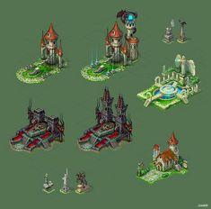 Buildings for game 3 by Jonik9i.deviantart.com on @DeviantArt