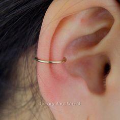 concha concha aro concha pendiente aro piercing anillo BCR 22g