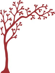 Silhouette Online Store - View Design #23012: bare tree branch