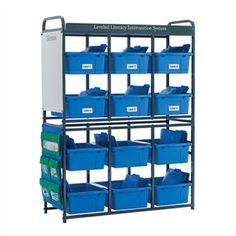 Resource Room Organizer - Modular, customizable storage for your resource room, library or classroom!