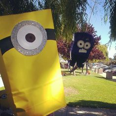 despicable me birthday party - Google Search  cute favor bags
