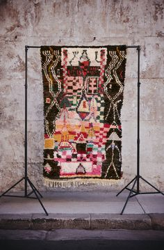 Boucherouite Rag Rug - Village | amazing rugs + quilts from fossik