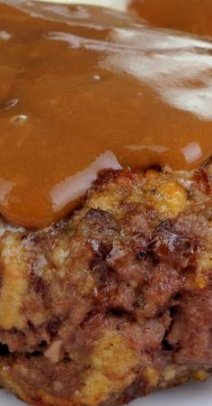 Hamburger Steaks and Gravy are made with seasoned ground beef patties, peppers, onion and are simmered in a deliously thick brown gravy! Hamburger Steak Recipes, Hamburger Steak And Gravy, Ground Beef Recipes, Hamburger Dishes, Entree Recipes, Meat Recipes, Cooking Recipes, Barbecue Recipes, Cooking Tips