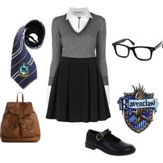Ravenclaw School Outfit