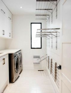 Outdoor Laundry Rooms, Modern Laundry Rooms, Farmhouse Laundry Room, Outdoor Rooms, Laundry Room Remodel, Laundry Room Organization, Organization Ideas, Storage Ideas, Laundry Closet
