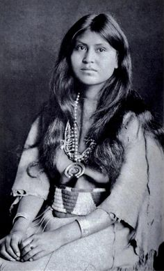 Native American Woman- very pretty