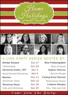 Silver Pennies: Home For the Holidays: You're Invited