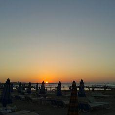 La spiaggia di Cattolica al Tramonto!