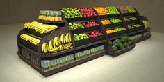 healthy food choices when eating out menu printable Produce Displays, Fruit Displays, Supermarket Design, Retail Store Design, Vegetable Shop, My Coffee Shop, Spice Shop, Fruit Shop, Fresh Market