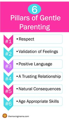 Ever wonder the basics of Gentle Parenting? Here are the 6 pillars of Gentle Parenting. Follow these points for a gentler, happier home. Click here to read more about each and to take a free Gentle Parenting course to get you started! #gentleparenting #christianparenting #gracebaseddiscipline #positivediscipline #gentlefoundations