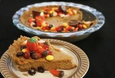 Feed Your Sweet Tooth with Dulce De Leche Halloween Candy Cheesecake!