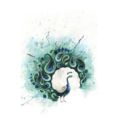 Circle Peacock Art Print by Tracey Cameron Society6 ❤ liked on Polyvore featuring home, home decor, wall art, fillers, circle, elements, peacocks, circular, round and peacock home accessories