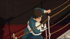 From Up on Poppy Hill - Animation Screencaps Studio Ghibli Art, Studio Ghibli Movies, Disney Animation, Animation Film, Up On Poppy Hill, Secret World Of Arrietty, Adventure Time Girls, Japanese Animated Movies, Drama