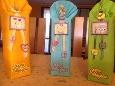 Decorazioni in ceramica per i dolci di Pasqua