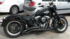 Harley Davidson Fatboy Lo 2011 - Dark Custom