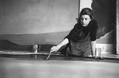 the sphinx & the milky way: helen frankenthaler