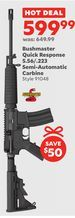 Bushmaster Quick Response 5.56/.223 Semi-Automatic Carbine from Academy Sports + Outdoors $599.99 (8% Off) -