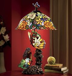 9 Intelligent Cool Ideas: Old Lamp Shades Decor unique lamp shades home decor.Sq… - All For House İdeas Stained Glass Lamp Shades, Stained Glass Art, Tiffany Stained Glass, Cool Ideas, Butterfly Lamp, Butterflies, Lampe Art Deco, Wooden Lampshade, Rustic Lamp Shades