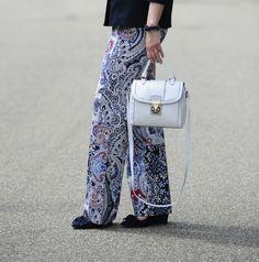 .: Details :. #DIY #scarfprint #pants