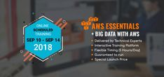 Amazon Web Service (AWS) Essentials with Big Data Training primarily focuses on the basic information on AWS and its usage with the Big Data Terminology making AWS Application more secure and flexible. Cisco Systems, Professional Services, Cloud Computing, Learning Resources, Big Data, New Technology, Web Development, Schedule, Flexibility