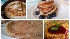 TOP3 Kipróbált, bevált diétás palacsinta recept uzsonnára! Diabetic Recipes, Diet Recipes, Naan, Pancakes, French Toast, Paleo, Breakfast, Ethnic Recipes, Cukor