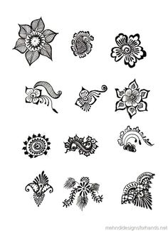 Small henna designs ideas Going to buy henna body designs or Mehndi patterns then Click VISIT link above for more options Henna Doodle, Henna Tatoo, Simple Henna Tattoo, Henna Tattoo Designs, Henna Art, Mandala Tattoo, Small Henna Designs, Beginner Henna Designs, Simple Mehndi Designs