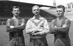 Jiri Hanke, Ferdinand Daucik et Ladislao Kubala (Barcelone)