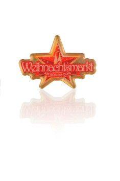 Offizieller Weihnachtsmarkt Pin. Dom, Chevrolet Logo, Weihnachten, Gifts