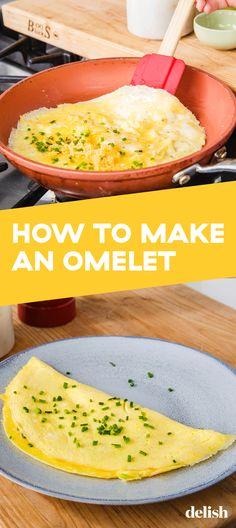 best ideas breakfast ideas with eggs omelettes easy Healthy Omlet Recipes, Healthy Breakfast Recipes, Omelete Recipes, Healthy Snacks, Breakfast Omelette, Breakfast Dishes, Breakfast Ideas, Cheese Omelette, Best Omelette