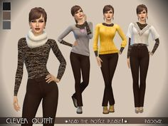 Sims 4 CC's - The Best: Clothing by Paogae