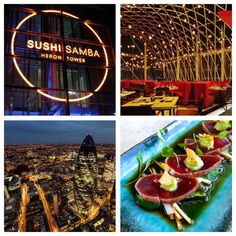Why we love Sushi Samba and the best Sushi places in London here http://blog.vaultcouture.com/post/londons-top-sushi-shrines.html #Food #VaultCouture #Sushi #Restaurants #Luxury