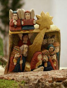Polnische Krippe (Polish Nativity Scene)