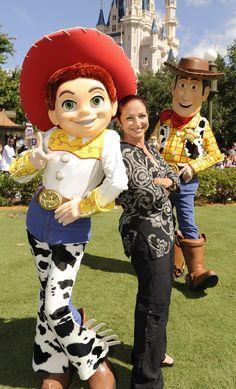 Gloria Estefan en Disney Land