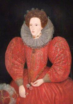 Lucas de Heere (Flemish, 1534-1584) - Queen Elizabeth I (1533–1603)