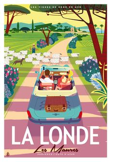 🌟Tante S!fr@ loves this📌🌟 Retro Poster, New Poster, Art Deco Posters, Travel Illustration, Vintage Travel Posters, Magazine Art, Vintage Advertisements, Cute Art, Illustrations Posters