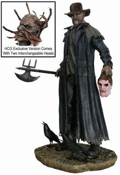 Hollywood Collectibles Group has taken it upon themselves to make a piece from the cult classic film that is worth a purchase f. Cool Monsters, Famous Monsters, Classic Monsters, Horror Action Figures, Horror Merch, Jeepers Creepers, Arte Horror, Classic Films, Marvel
