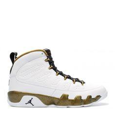 ddfe1b8874d8 Air Jordan 9 Retro Statue White Black Militia Green 302370 109