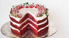 ▷ ideas for red velvet cake to enjoy with a partner-▷ Ideen für roter Samtkuchen zum genießen mit Partner red velvet cake recipe red velvet cake with strawberries cream cake delicious birthday wedding - Red Velvet Cupcakes, Red Velvet Cake Rezept, Bolo Red Velvet Receita, Food Cakes, Cupcake Cakes, Strawberry Cream Cakes, Strawberries And Cream, Bolo Pinata, Southern Red Velvet Cake